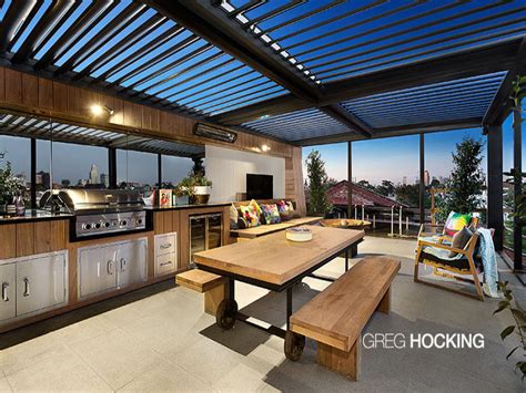 outdoor living area outdoor living design with bbq area from a real australian