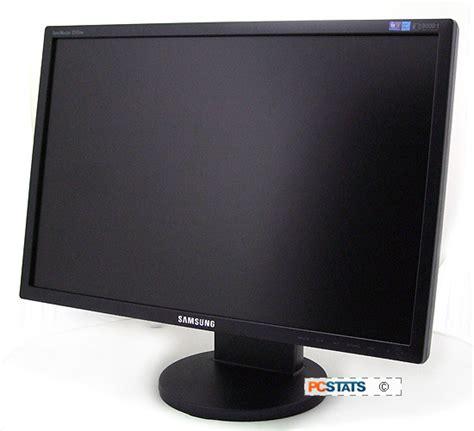 Monitor Samsung Sync Master samsung syncmaster 2243bw 22 inch lcd display review