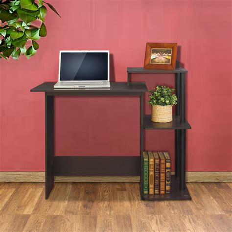 furinno 11192 efficient home laptop notebook computer desk multiple colors walker edison furniture company home office black desk
