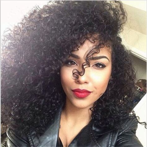 curly hair extensions 6a curly hair 4pcs 14 16 18 18 inch real