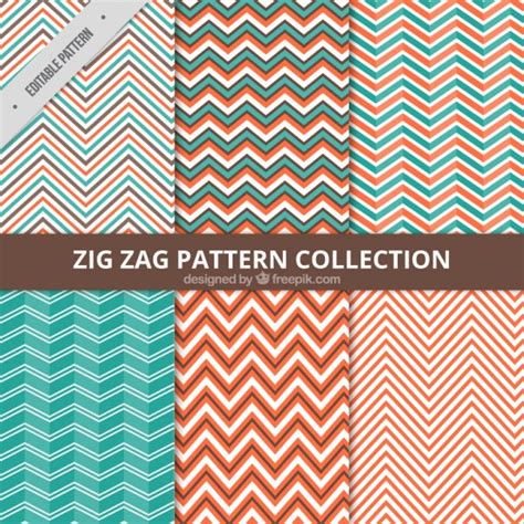 zig zag pattern eps zig zag pattern collection vector free download