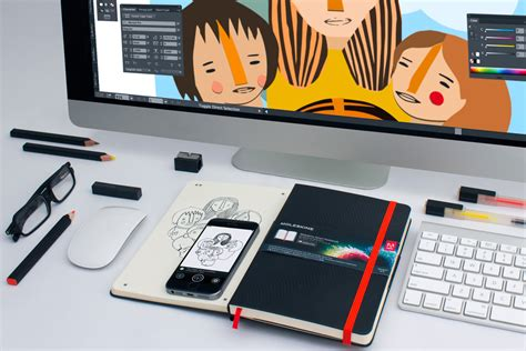 adobe creative cloud moleskine smart notebook cool hunting