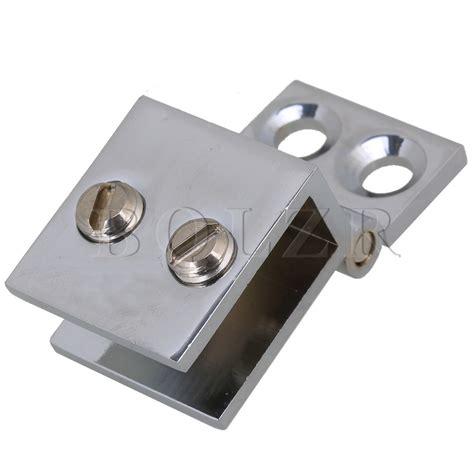 Wonderful Bathroom Shower Glass Door Price #4: BQLZR-Metal-Bathroom-Shower-Door-Silver-Metal-Wall-to-Glass-Clamp-Hinge.jpg