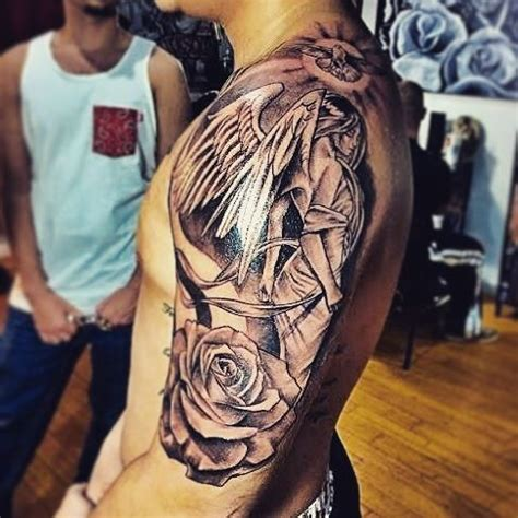 amazing half sleeve tattoogodsngoddess tggartistry