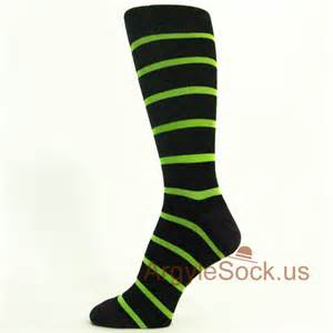 Black based thin neon lime green stripes it combines beautifully with