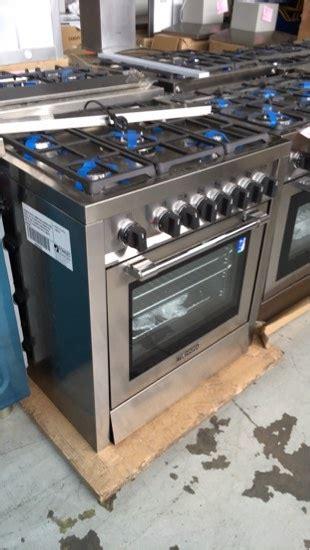 technika tggu mm freestanding oven ssteel  gas