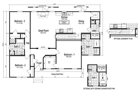palm harbor home floor plans view the abilene floor plan for a 1836 sq ft palm harbor