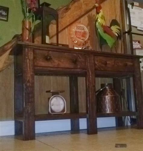 pottery barn table ls mel s tree house pottery barn knock console table