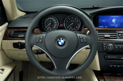 2007 bmw 3 series coupe official press release interior