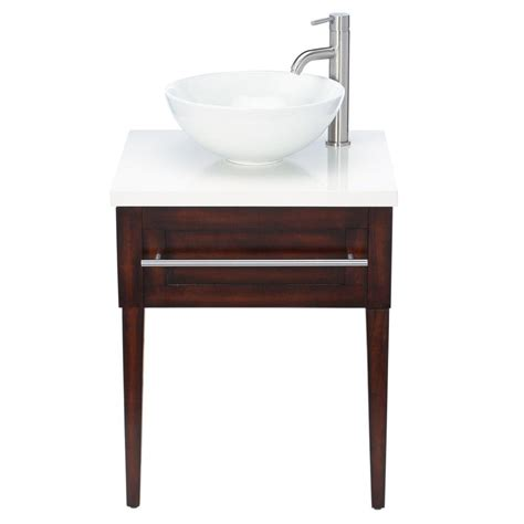 Engineered Vanity Tops by Home Decorators Collection Aitken 24 In Transitional