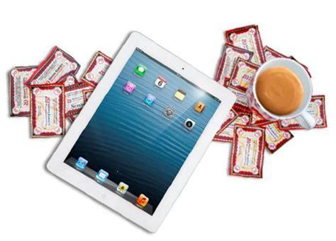 douwe egberts punten inwisselen koffie en thee drinken voor een apple ipad koffiepraat