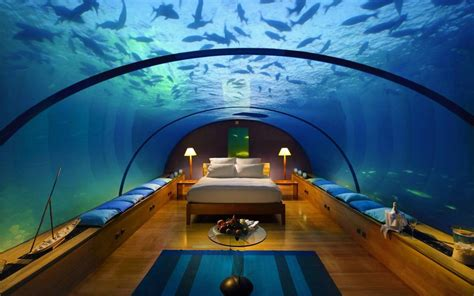 Beach Theme Bathroom Ideas by Underwater Hotel Cheers To Hawaii