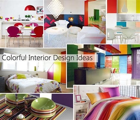 colorful interior design rainbow designs 20 colorful home decor ideas