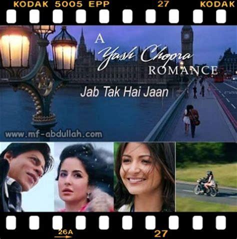 film malaysia terbaru youtube film terbaru shahrukh khan jab tak hai jaan sinopsis