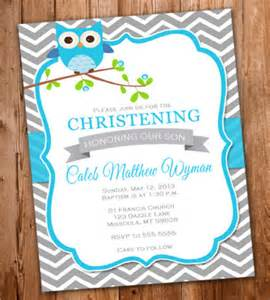 baptism invitations template invitation layout for christening boy infoinvitation co