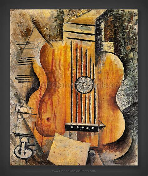 pablo picasso paintings guitar canvas prints