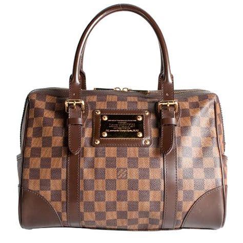Louis Vuitton Damier Berkeley Available Now On Eluxurycom by Louis Vuitton Damier Ebene Berkeley Satchel Handbag