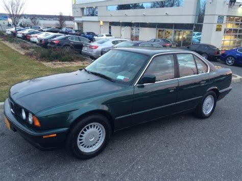 car owners manuals for sale 1992 bmw 3 series windshield wipe control bmw 5 series sedan 1992 green for sale wbahd531xnbf96237 1992 bmw e34 525i 5 speed manual