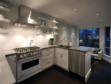 kitchen layout no upper cabinets 15 design ideas for kitchens without upper cabinets of