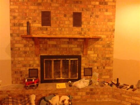 Tv Height Fireplace by Height Of Fireplace Mantel And Tv Above
