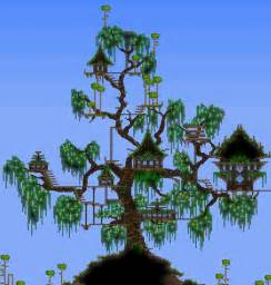 terraria tree house terraria houses g is for games pinterest treehouse terrarium and house
