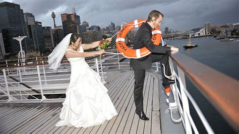 Wedding On A Cruise by More Couples Tying The Knot At Sea