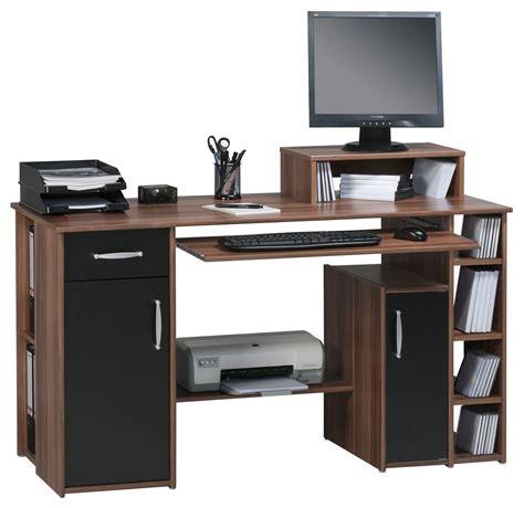 Walnut Computer Desk by Maja Seattle Walnut Computer Desk