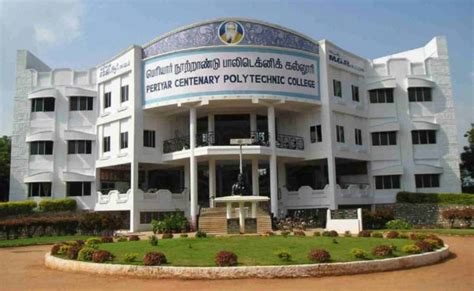 Centenary College Mba Tuition by Periyar Centenary Polytechnic College Thanjavur