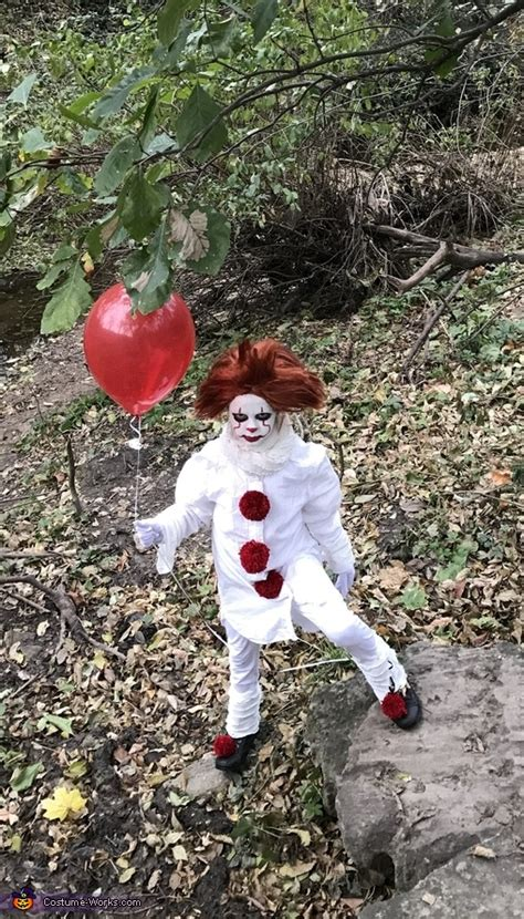 easy diy pennywise girls costume creative diy costumes