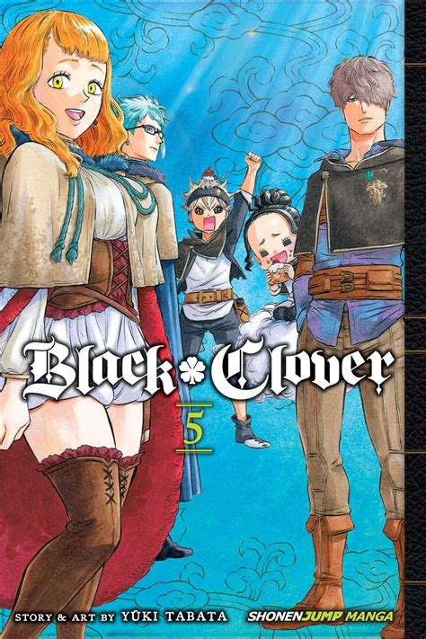 black clover vol 2 black clover vol 5 book by yuki tabata official