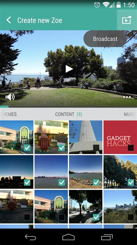 htc zoe themes how to use htc s zoe to create share pro quality videos