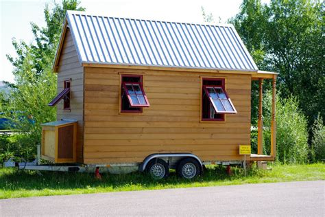 Tiny House On Wheels In Germany Hanspeter Brunner Tumbleweed Tiny Houses On Wheels