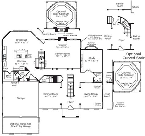 winchester house floor plan winchester homes randall model