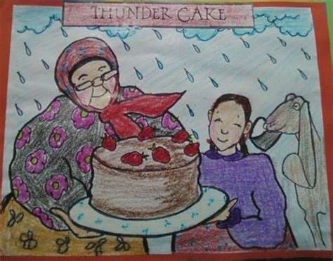 Thunder Cake Coloring Page | april 2013 the teacher s chatterbox