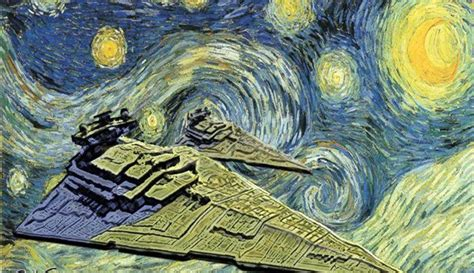 9 Geeky Variations Of A Starry Night By Van Gogh Epic | 9 geeky variations of a starry night by van gogh epic