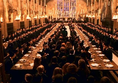 the great hall harry potter a relaxing atmosphere much like i imagine would be in the