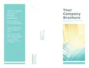 company brochures templates business company brochure template for powerpoint 2013 or
