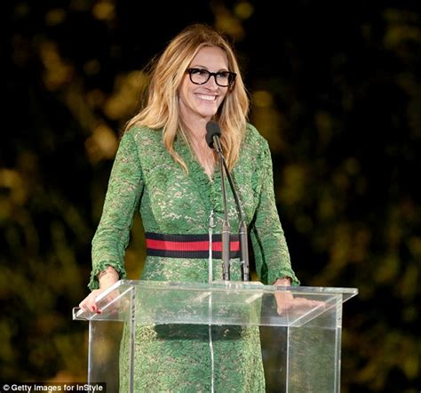 Get Macphersons Gucci Dress For 35 by Presents An Award At Studded Instyle