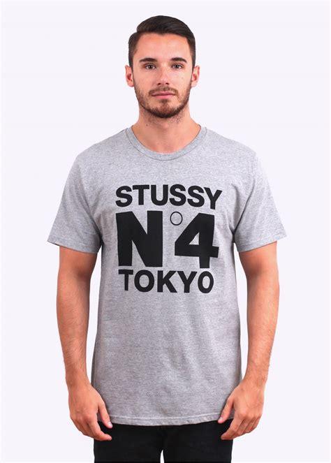 Tshirt Stussy 9 stussy n 4 tokyo grey