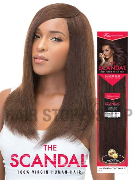 hair style in scandal femi collection scandal yaky wvg virgin human hair weave