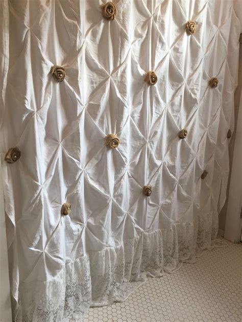white cotton ruffle shower curtain 25 best ideas about ruffle shower curtains on pinterest