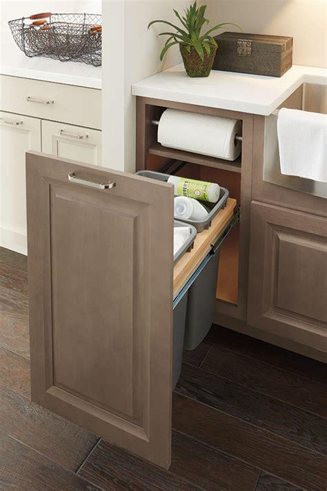 Under Cabinet Wastebasket Kitchen Base Paper Towel Cabinet Full Height Door Diamond