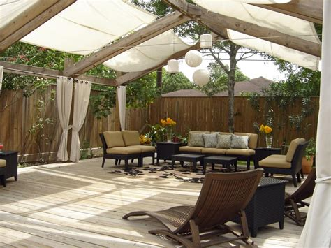creating an outdoor patio make shade canopies pergolas gazebos and more hgtv