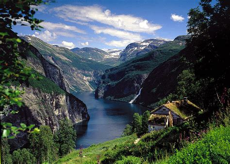 fjord finland waterfall road scandinavia in movies