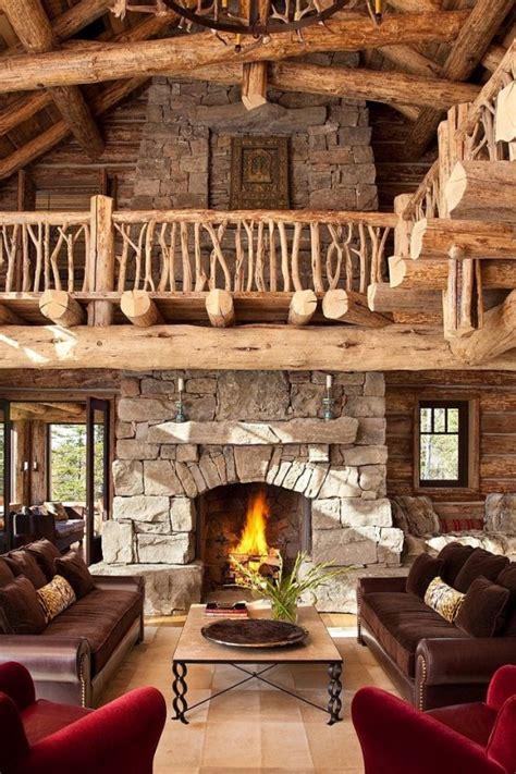 60 einrichtungsideen wohnzimmer rustikal freshouse - Kamin Rustikal