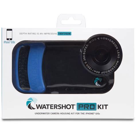 watershot housing watershot pro underwater housing for iphone 6 6s wsip6 027 b h