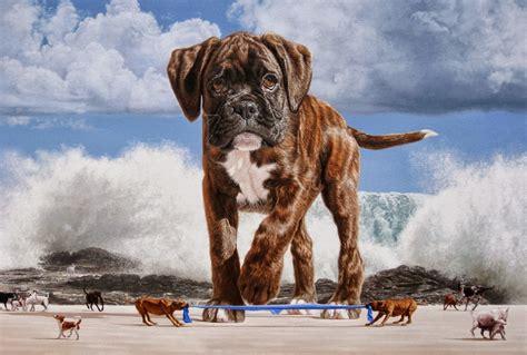 imagenes surrealistas de animales cuadros modernos pinturas y dibujos paisaje surrealista