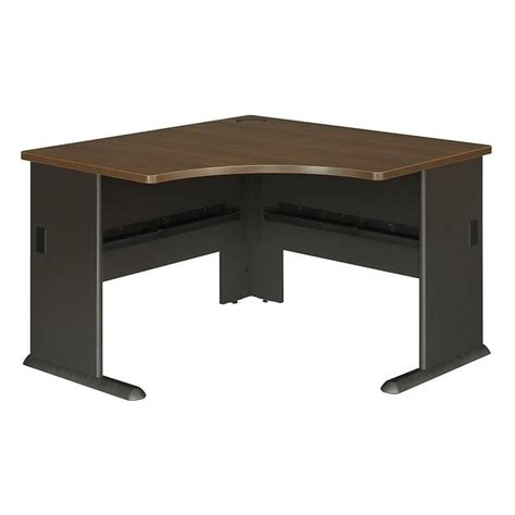 Bush Series A Corner Desk Bush Bbf Series A 48w Corner Desk In Walnut Wc25566