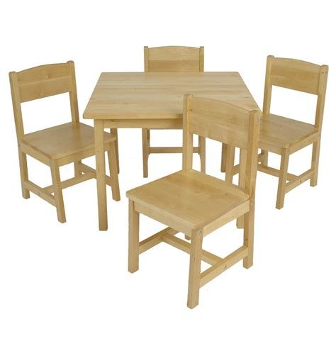 kidkraft farmhouse table and chairs set at growing tree toys