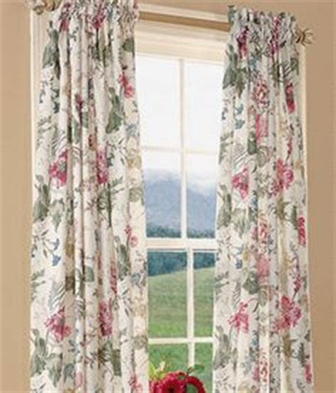 cottage drapes english country cottage plaid curtains curtains